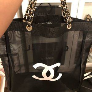 Authentic VIP GIFT Chanel Mesh Tote